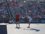 Tennis 24/7: Djokovic trút giận lên trái bóng