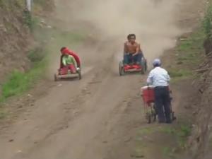 """Cười 24H - Video clip: Giải đua xe """"khốc liệt"""" nhất quả đất"""