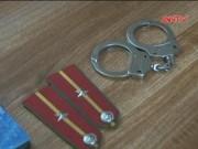 Video An ninh - Bắt hai học sinh trung cấp giả danh Trung úy công an