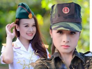8X + 9X - Vẻ đẹp ngọt ngào của nữ phát thanh viên quân đội