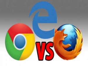 Thủ thuật - Tiện ích - Cuộc chiến trình duyệt Edge, Chrome và Firefox trên Windows 10