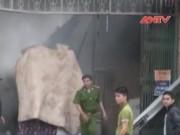 Video An ninh - Yên Bái: Cháy cây xăng khi đang tiếp nhiên liệu