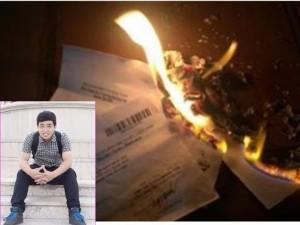 8X + 9X - Chàng trai tự tay đốt 4 giấy chứng nhận kết quả ĐH