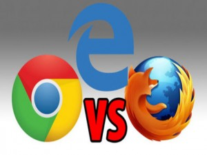 Cuộc chiến trình duyệt Edge, Chrome và Firefox trên Windows 10