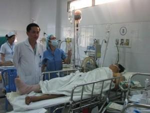 Sức khỏe đời sống - Cứu sống bệnh nhân bị vỡ tim, không đo được huyết áp