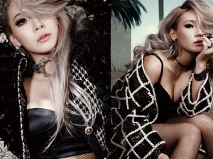 Ca nhạc - MTV - Trưởng nhóm 2NE1 sang Mỹ chụp ảnh gợi cảm