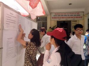 Giáo dục - du học - Đăng ký nguyện vọng bổ sung: Thí sinh không được rút hồ sơ