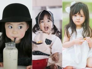 """Thời trang - 3 nhóc tì xứ Hàn cực yêu, cực xinh """"hút"""" cư dân mạng"""