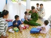 An ninh Xã hội - Những đứa trẻ trong trại giam