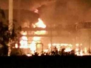 Tin tức trong ngày - Video nổ nhà máy hóa chất ở Sơn Đông, Trung Quốc