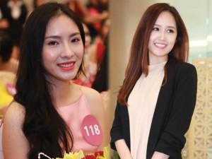 Người mẫu - Hoa hậu - Mai Phương Thúy nổi bật giữa dàn thí sinh HH Hoàn vũ