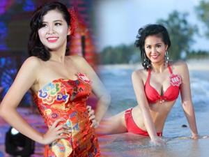 Làm đẹp - Nữ sinh Hà Nội giảm 8kg để đi thi Hoa hậu Hoàn vũ VN