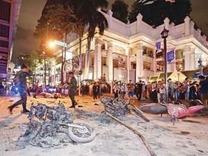 Lại phát hiện bom ở trung tâm Bangkok