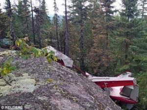 Tin tức trong ngày - Canada: Máy bay đâm vào núi, 6 người thiệt mạng