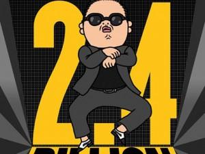 Hơn 2,4 tỷ lượt xem điệu nhảy ngựa Gangnam Style