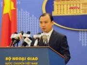 Video An ninh - VN yêu cầu Đài Loan chấm dứt xây hải đăng ở Trường Sa