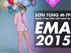 Sơn Tùng chính thức đến  đấu trường  EMA 2015