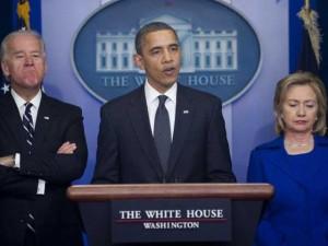Tin tức trong ngày - Bầu cử Mỹ: TT Obama mắc kẹt giữa bà Hillary và ông Biden
