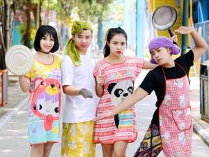 Bạn trẻ - Cuộc sống - Duy Nam, Linh Miu, Hữu Công hợp tác trong MV hài hước