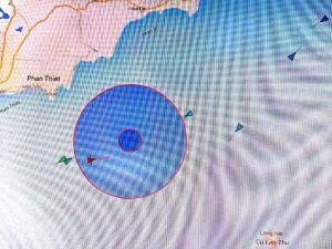 Tin tức Việt Nam - Bình Thuận: Chìm tàu cá, 7 thuyền viên mất tích