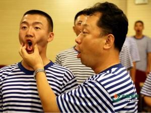Quân sự - Đoàn quân nhạc Trung Quốc khổ luyện cho lễ diễu binh