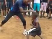 Võ thuật - Quyền Anh - Hoa mắt với bài tập của cậu bé boxing 6 tuổi