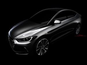 Hyundai Elantra compact sedan thiết kế phá cách mới