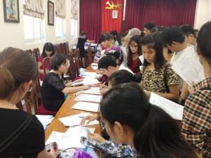 Hà Nội: Cấp giấy trúng tuyển ngay cho thí sinh đến xét tuyển