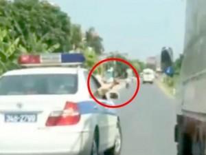 Tin tức Việt Nam - CSGT Hải Dương lên tiếng vụ nổ súng khi truy đuổi xe tải