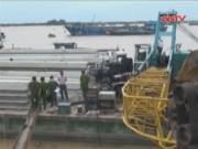 Video An ninh - Lại sập cần cẩu tại Đồng Tháp, 2 công nhân tử vong