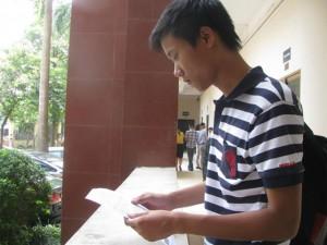 Giáo dục - du học - Trường top giữa xét NV2: Lác đác thí sinh đến nộp hồ sơ