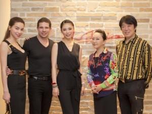 Ca nhạc - MTV - Hà Hồ, Chi Pu đi ăn tối với Hoa hậu hoàn vũ Nhật Bản