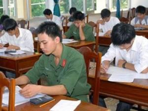 Tin tức Việt Nam - Còn hàng nghìn chỉ tiêu tuyển sinh bổ sung vào các trường quân đội