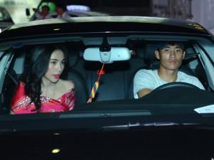Ca nhạc - MTV - Công Vinh lặng lẽ đưa đón Thủy Tiên