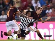Bóng đá - Roma - Juventus: Siêu phẩm và những chiếc thẻ đỏ