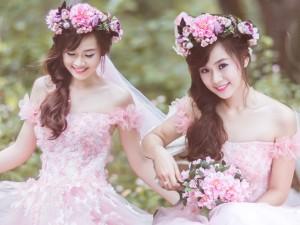 8X + 9X - Thiếu nữ 18 tuổi khoe dáng nuột nà với váy cưới