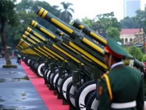 Đại bác bắn dịp lễ Quốc khánh sử dụng đạn loại gì?