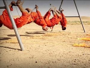 Tin tức trong ngày - IS treo ngược và thiêu sống tù nhân