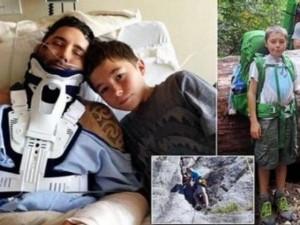 8X + 9X - Cậu bé 13 tuổi dũng cảm một mình cứu bố giữa rừng