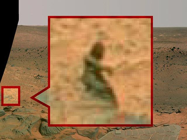 11 bức ảnh kỳ quái về sự sống trên Sao Hỏa