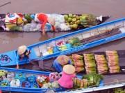 Du lịch - Rộn ràng chợ nổi Ngã Năm