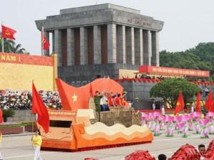 Hào khí Việt Nam qua lễ diễu hành, diễu binh hùng tráng