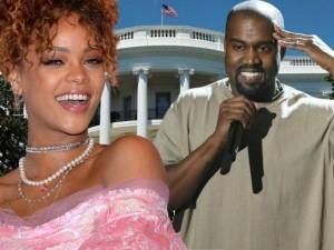Rihanna sẽ bỏ phiếu cho Kanye West tranh cử Tổng thống