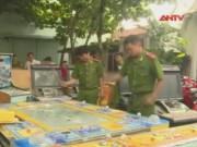 Video An ninh - Vũng Tàu: Tiêu hủy 20 máy đánh bạc trá hình