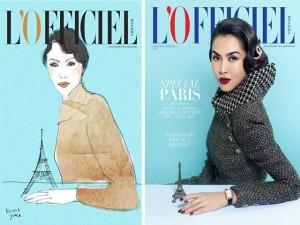 Người mẫu - Hoa hậu - Tăng Thanh Hà tái xuất ấn tượng trên tạp chí