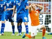 Video bàn thắng - Hà Lan – Iceland: Trái đắng đầu tay