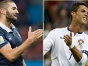 """Các giải bóng đá khác - Bồ Đào Nha – Pháp: Ronaldo quyết """"trả nợ"""" Benzema"""