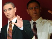Bạn trẻ - Cuộc sống - Chàng trai trẻ kiếm bộn tiền nhờ giống tổng thống Obama