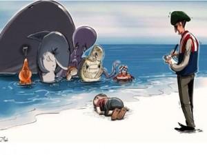 Tin tức trong ngày - Dân mạng xót thương bé trai Syria chết đuối, dạt vào bờ biển