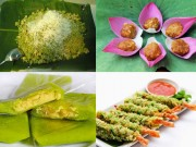 Ẩm thực - Những món ngon từ cốm chỉ mùa thu Hà Nội mới có